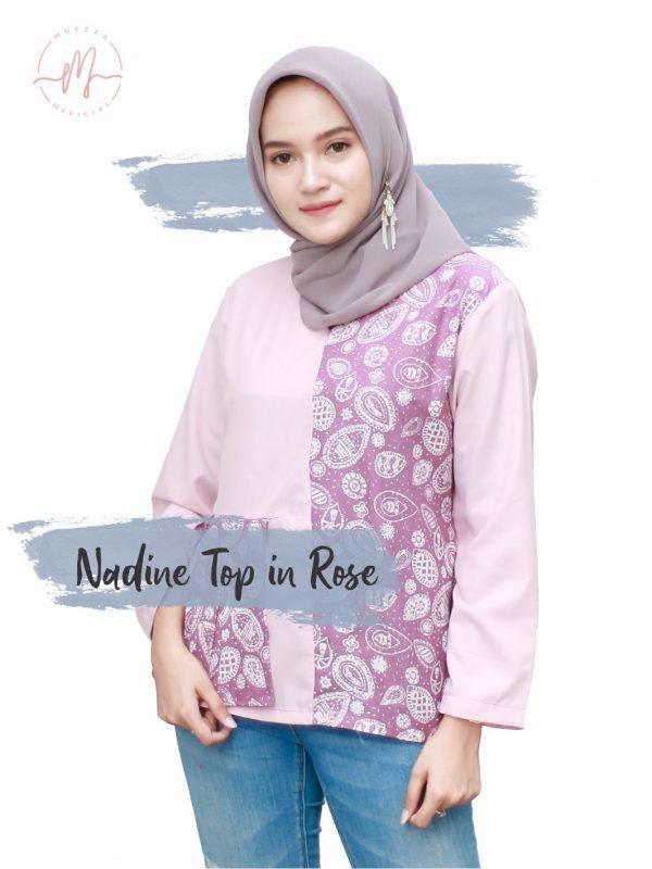 Nadine Top in Rose